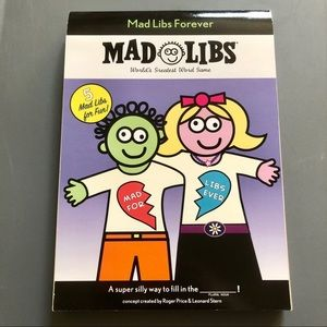 Mad Libs Forever Book